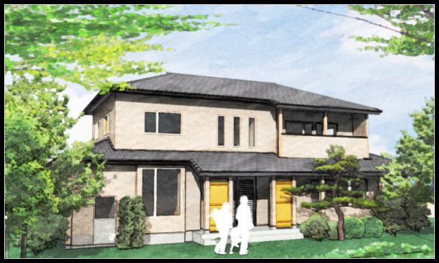 【長期優良住宅国産材先導モデル】補助金受給|山形県庄内町の注文住宅 OS様邸|