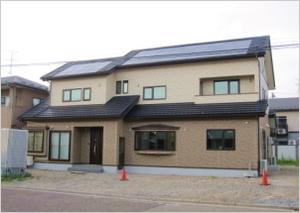 【長期優良住宅】山形県酒田市の注文住宅 MK様邸|電気料が安い|