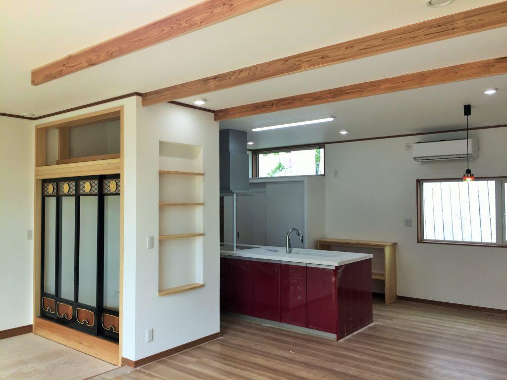 【山形県酒田市注文住宅「土井様」邸】気密性に対してすぐれて、説明もきちんとして頂き、家の良さが他ハウスメーカーより伝わりました。