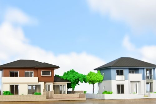 注文住宅|【KDの家】外観写真|施工事例集|酒田市|鶴岡市|山形県|